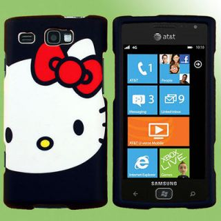 Faceplate Case for Samsung Focus Flash Hello Kitty E Holster Pouch