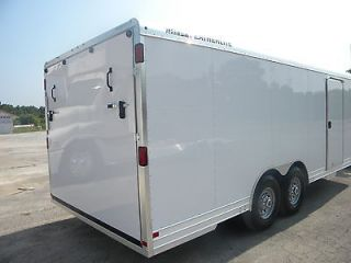 2013 Featherlite 20 White Aluminum Car Trailer Model 4926 Extra