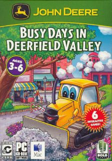 John Deere Busy Days in Deerfield Valley (free US shipping) NEW