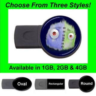 Monster Funny Design #4   USB Flash Memory Drive (Stick/Thumb/P​en