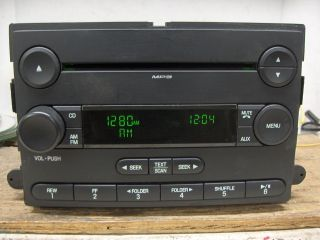 05 06 07 Ford Focus CD Player AM/FM  Radio Fits Many Ford OEM