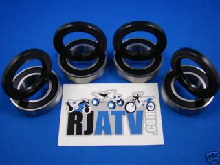 Yamaha Rhino 660 2004 2007 Front Wheel Bearings & Seals Kit