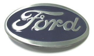 BRAND NEW FORD LOGO (BLUE) AMERICAN CAR AUTO METAL BELT BUCKLE