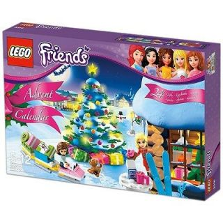 LEGO CHRISTMAS Friends Advent Calendar 2012 Heartlake Holiday 3316