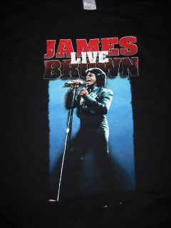 james brown t shirt in Mens Clothing