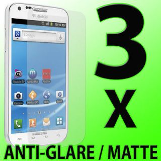 3x Anti Glare LCD Screen Protectors for Samsung Galaxy S II 2 4G T