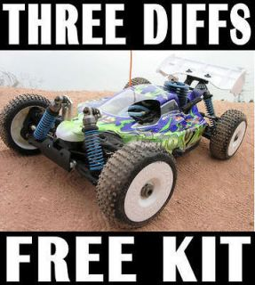 nitro powered rc cars in Cars, Trucks & Motorcycles