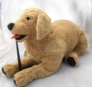 Jumbo Size 27 Gosig Golden Retriever Puppy Dog soft floppy plush HTF