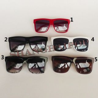 Sunglasses Big Frame Sunnies Shades Wayfarer Large Men Women Nerd Geek