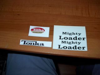 tonka decals in Diecast & Toy Vehicles