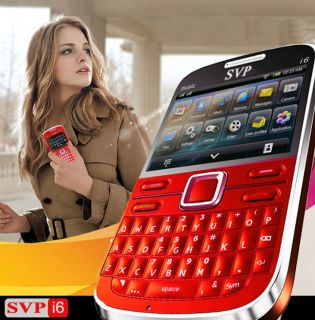 ~Qwert​y Keypad GSM QuadBand DualSim Cell Phone [aT&T * T Mobile