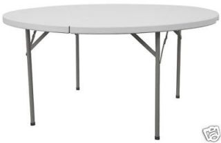 60 round folding table in Business & Industrial