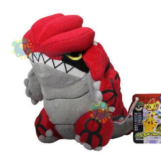 NEW TAKARA TOMY Pokemon Pikachu 6 GROUDON Plush Figure Doll Toy