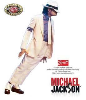 Jackson Smooth Criminal Shirt Blue Deluxe Halloween Adult Costume