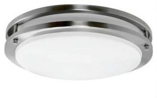 brushed nickel ceiling light in Chandeliers & Ceiling Fixtures
