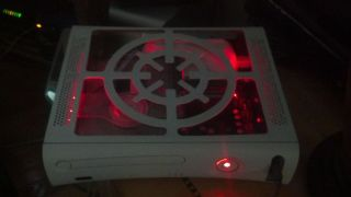 Custom Microsoft Xbox 360 20 GB Sound Activated LEDs Modded