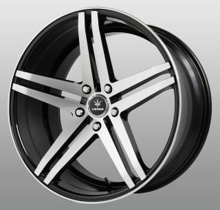 Black Wheels Rims Staggered 5x112 Mercedes SL 500 550 600 SL 55