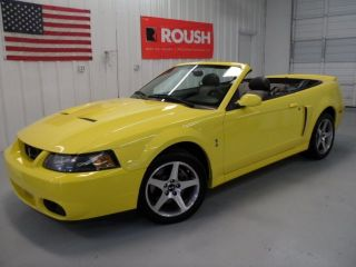 Ford  Mustang SVT Cobra Convertible 2 Door 2003 Ford Mustang SVT