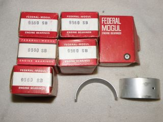 1937   1956 CHRYSLER DESOTO DODGE ENGINE ROD BEARING SET FEDERAL MOGUL