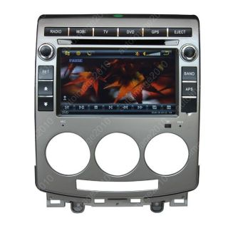 Car GPS Navigation Double DIN TFT TV DVD Player Radio for 2005 2010