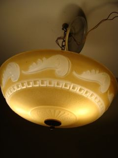 Antique Vintage Art Deco Victorian chandelier ceiling light fixture