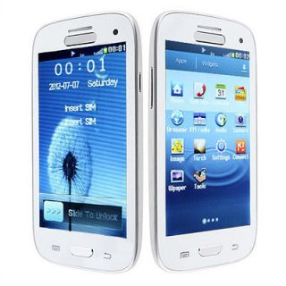 Touch screen Unlocked Quad band Dual Sim T mobile Cell Phone AT T