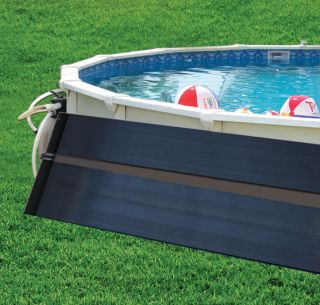 x10 Solar Pool Heater w/ Roof/Rack Mounting Kit
