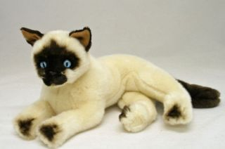 Siamese Cat soft stuffed plush toy Blossum NEW