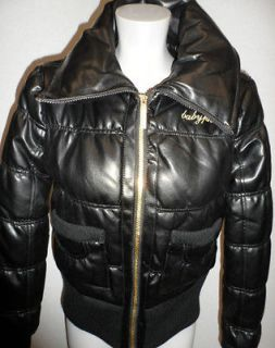 baby phat leather jacket in Coats & Jackets