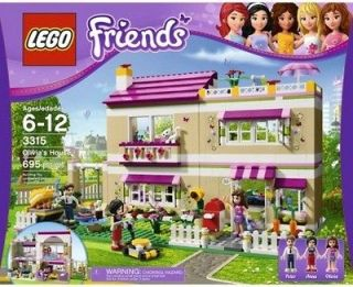 Lego Friends #3315 Olivias House NEW IN BOX  Large Girls Lego Set