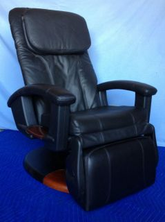 Used Black HT 135 Human Touch Massage Chair #541C