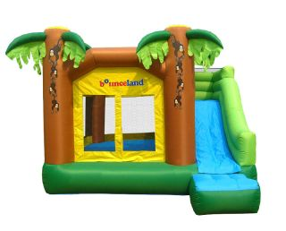 Bounceland Inflatable Bounce House Jungle Bouncer