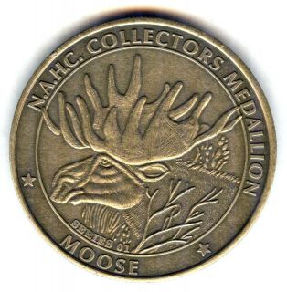 C2943 NORTH AMERICAN HUNTING CLUB BRONZE MEDAL, MOOSE