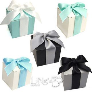 pieces 2x2x2 Wedding Party Baby Shower Favor Gift Candy Boxes Craft