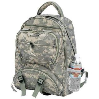 New Digital Camo Water Repellent Backpack Army Military Camping