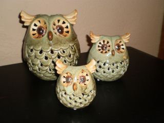 owl tealight in Candle Holders & Accessories