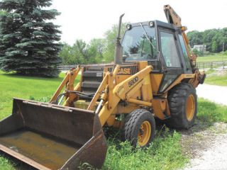 Case 580 D Loader Backhoe Tractor Shop Service Repair Manual 580D 580