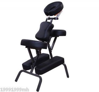 Portable Massage Chair PU Leather w/ Carry Bag