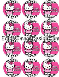 hello kitty edible image in Party Supplies
