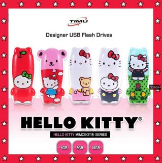 SANRIO Hello Kitty Mimobot Series 4GB 8GB 16GB USB Memory Flash Drive