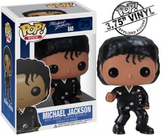 Funko MICHAEL JACKSON 3.75 BAD Pop VINYL FIGURE