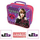 JUSTIN BIEBER CHILDRENS KIDS GIRLS INSULATED LUNCH FOOD SCHOOL BAG