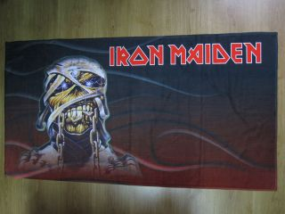 IRON MAIDEN   EDDIE . BEACH,SPORT& HOME TOWELSMEGA RARE