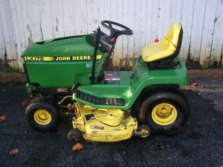 1995 JOHN DEERE LX172 LAWN TRACTOR RIDING MOWER LAWNMOWER WITH 48