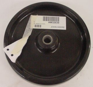 NEW JOHN DEERE GUAGE BOGIE DECK WHEEL AM32639 FOR 46 50 MODEL 47 48