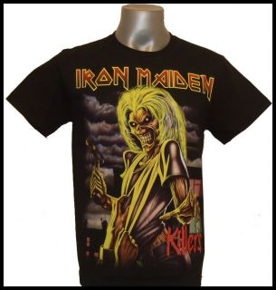 Iron Maiden The killers Tee T shirt T Shirts Size S, M, L,XL,XL2