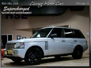 Rover Range Rover HSE Supercharged Luxury Seating TV DVD Entertainment