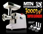 New MTN GearSmith Peak 3000W / 3.4HP Consumer Electric Meat Grinder