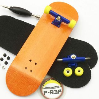 Peoples Republic   Complete Wooden Fingerboard   Orange Performance