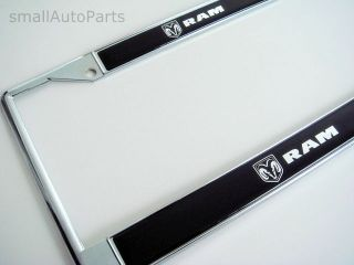 dodge ram license plate frame in Decals, Emblems, & Detailing